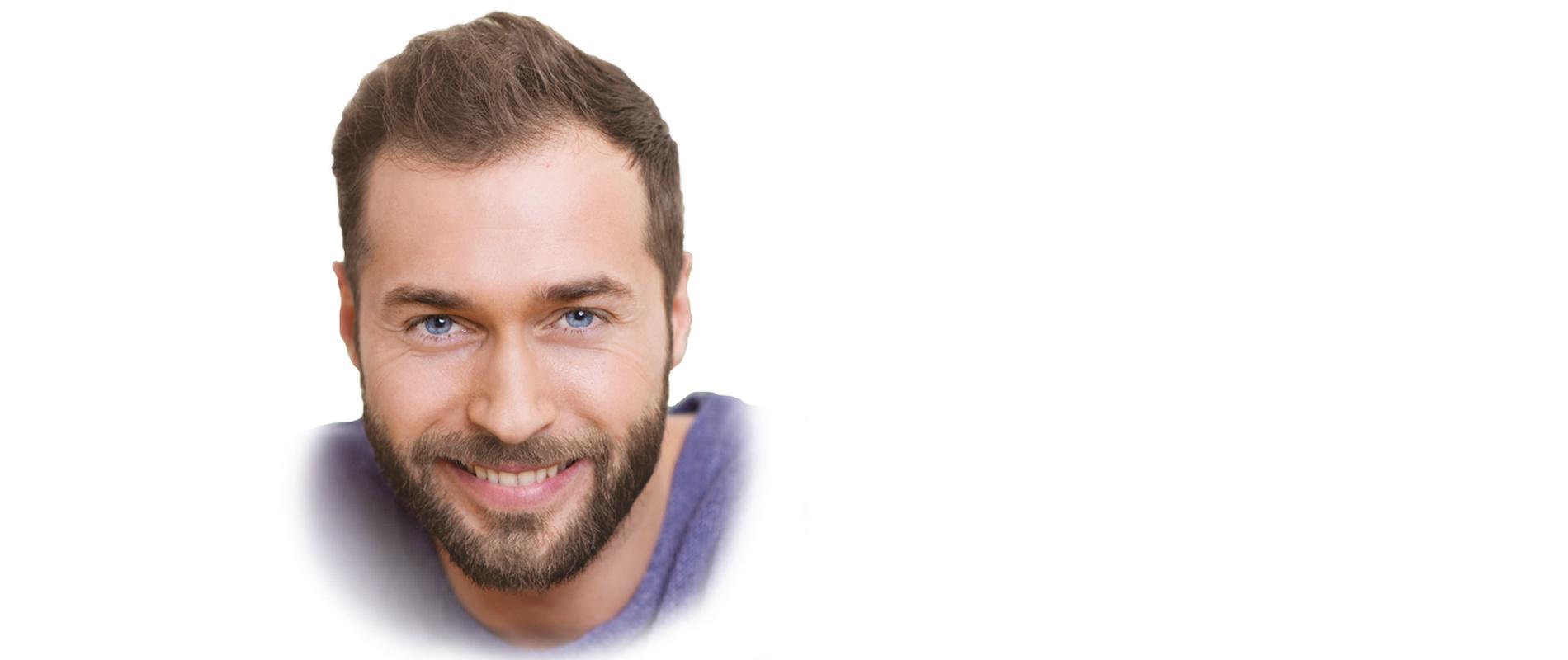 Bartfarbe Mittel braun kaufen Bart faerben Model